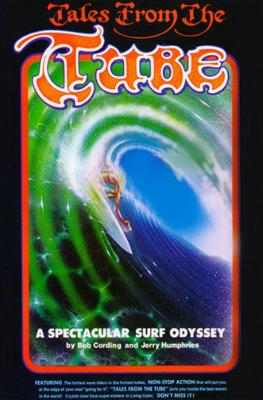 """1976 """"Tales of the Tube"""" Surf Movie Poster"""