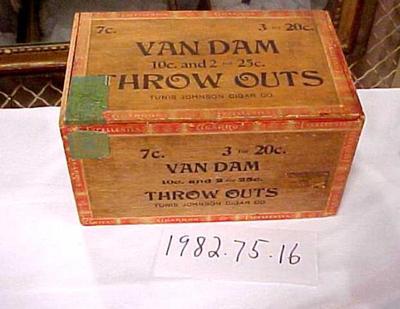 Cigar Box, Van Dam Throw Outs