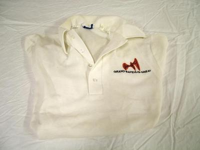 Shirt, White Polo