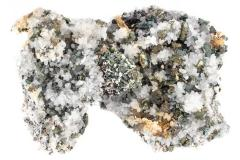 Calcite and Pyrite