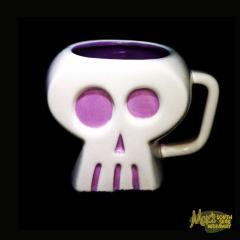 Pink Skull Mug by SHAG
