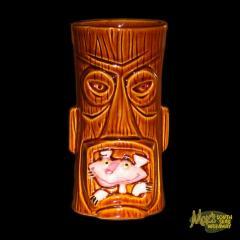 SHAG Pink Panther Tiki Mug