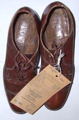 Shoes, Men's, Pair, Brown Oxfords