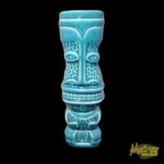 Short Ratongo Pohu Blue Tiki Mug