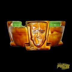 Tres Tikis Bowl Tiki Mug by Von Franco and Squid