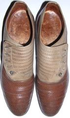 Shoes, Men's, Pair, Brown