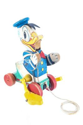 Talking Donald Duck Pull Toy