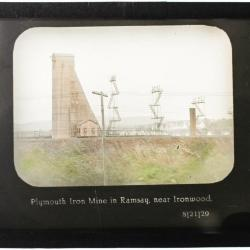 Lantern Slide, Plymouth Mine