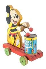 Mickey Mouse Drummer Pull Toy