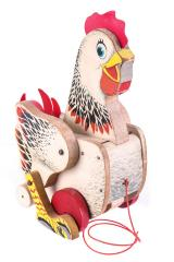 Cackling Hen Pull Toy