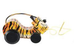 Tawny Tiger Pull Toy