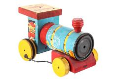Whistling Engine Pull Toy