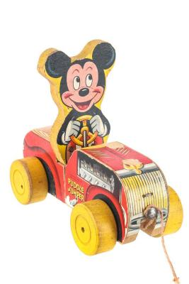 Mickey Mouse Puddle Jumper Pull Toy