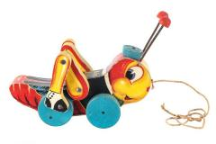 Kriss Kricket Pull Toy