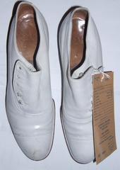 Shoes, White, Men's