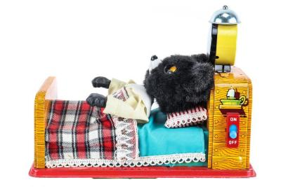 Sleeping Baby Bear Mechanical Toy
