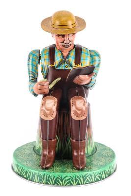 Man on a Stump Mechanical Toy