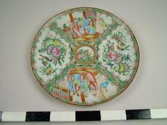 Plate, Famille Rose