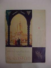 Booklet. Oriental Reproductions
