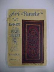 Booklet. Art Panels From The Handlooms Of The Far Orient