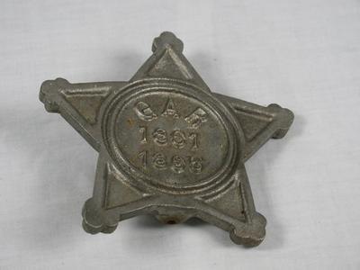 Plaque, G.A.R. 1861-1865