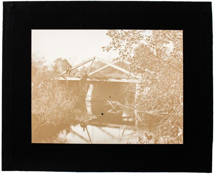 Lantern Slide, Old Bridge