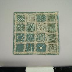 Needlework Piece, Small Lace Sampler