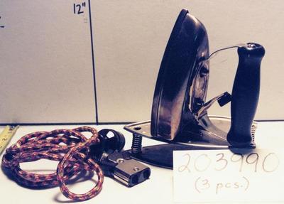 Electric Travel Iron (3 Pcs.)