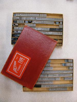 Printing Type (2 Boxes)