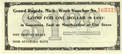 Grand Rapids Issued Scrip