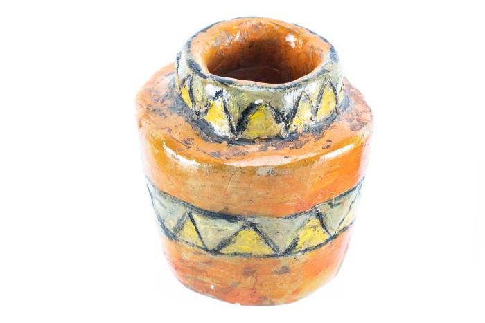 Pottery Piece, Roger B. Chaffee Archive Collection #6