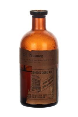 Bottle, Oil Nutmeg