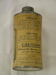 Canister Of Victorine Dry Cleaner