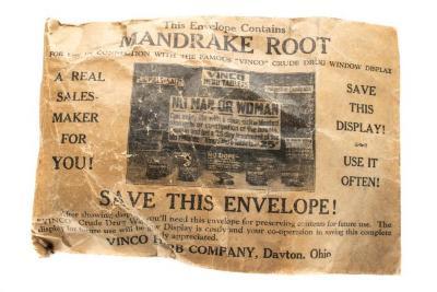 Pharmaceutical, Mandrake Root