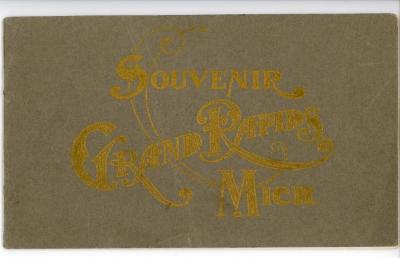 Booklet, 'souvenir Of Grand Rapids, Mi'