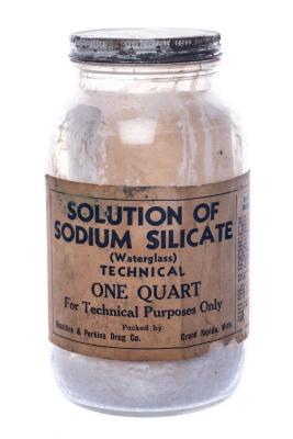 Pharmaceutical, Sodium Silicate