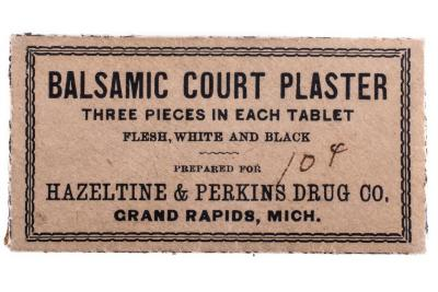 Pharmaceutical, Balsamic Court Plaster
