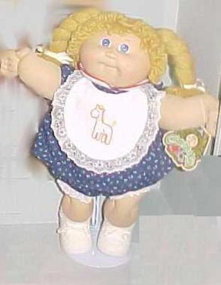Doll, 'cabbage Patch Kid'