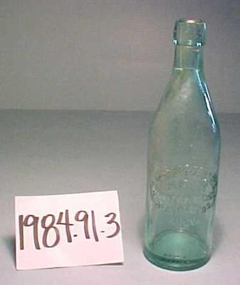 Bottle, Brogger & Zoellner, West Side Bottling Works