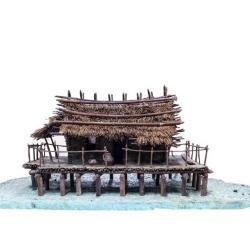 Model, Swiss Lake Dwelling