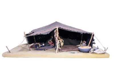 Model, Bedouin Tent