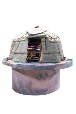 Model, Mongolian Yurt