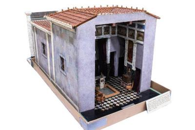 Model, Roman Mansion