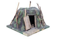 Model, Lapland Sod Hut