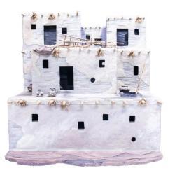 Model, American Indian Pueblo