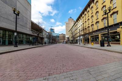 Digital Photograph, Monroe Center Street