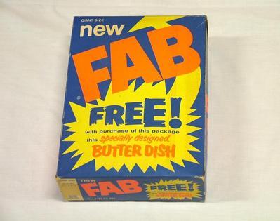 Fab Detergent Box