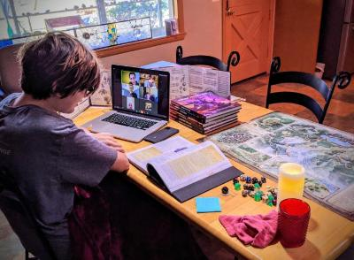 Digital Photograph, Dungeons and Dragons