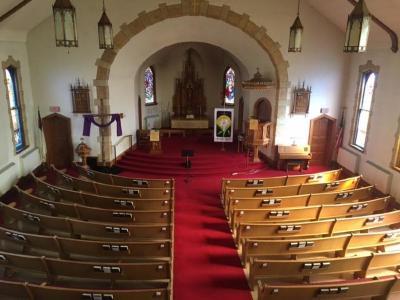 Digital Photograph, Trinity Lutheran Church