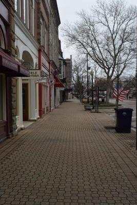 Digital Photograph, Downtown Holland